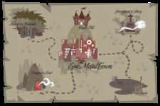 Epic Metal Kingdom map