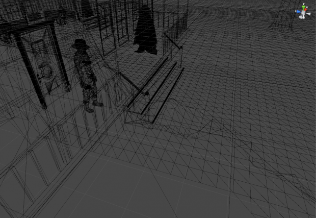 Project Night - IndieD - Screenshot 18 - Wireframe