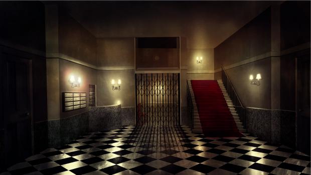 Hannay Apartment Foyer