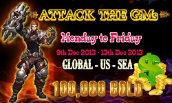 Attack GM event