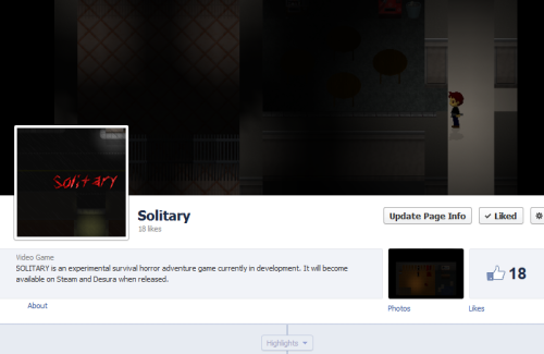 Solitary Facebook Page