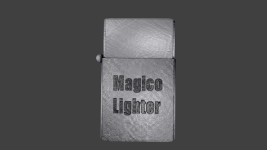 Magico Brand Lighter Texture test