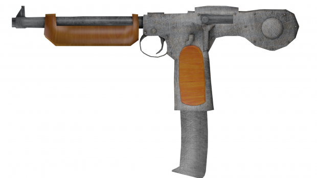 Barcecan CAP-8 Submachine gun V2