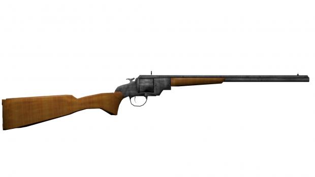 """SNK 1879 """"Brass Ring"""" Revolving Rifle"""