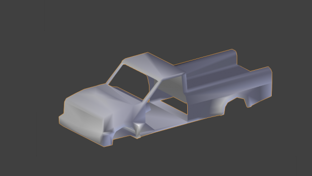 The first car model for lost silence, preview