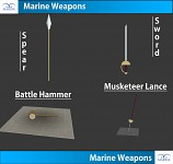 Marine weapons