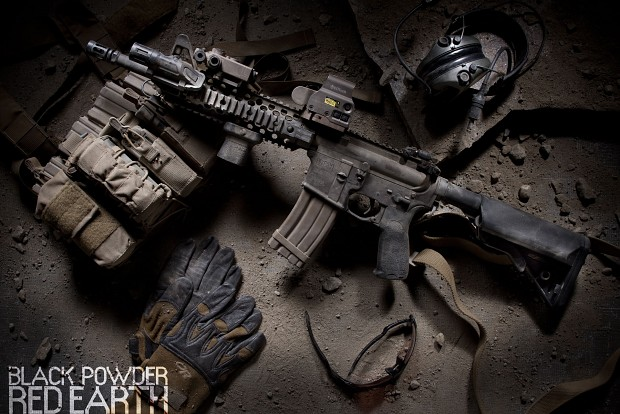 Weapons of Black Powder \\ Red Earth