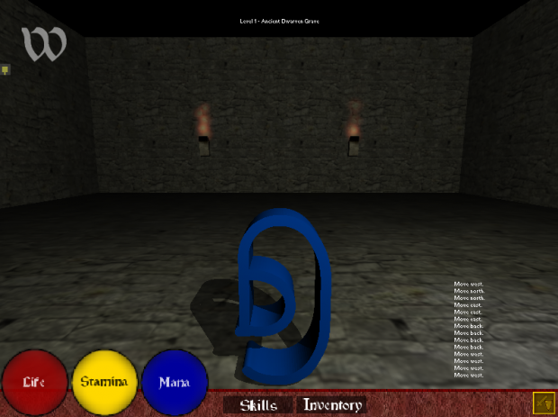 Catacomb theme screenshot