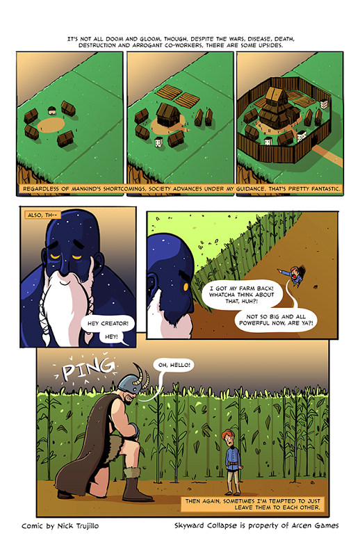 Skyward Collapse Comic #5 (Final Page)