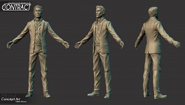 Sebastian High Poly WIP