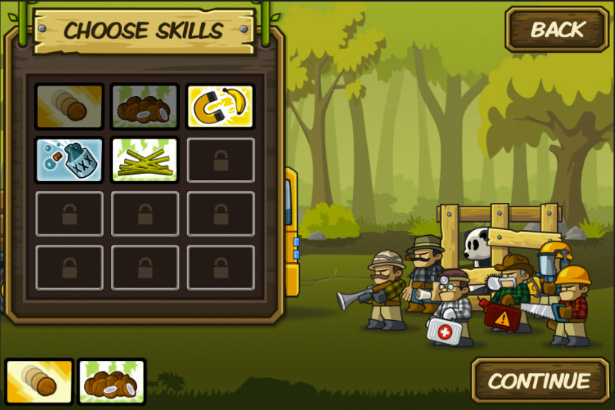 Lumberwhack Choose Skill Preview