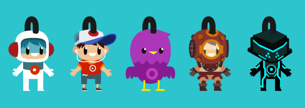 Sky Tourist Custom Characters