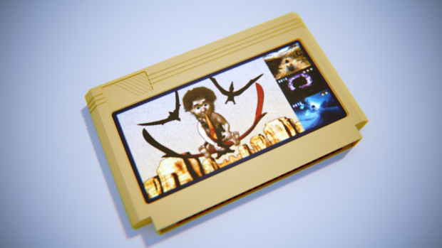 Atari (Famicom) Cartridge