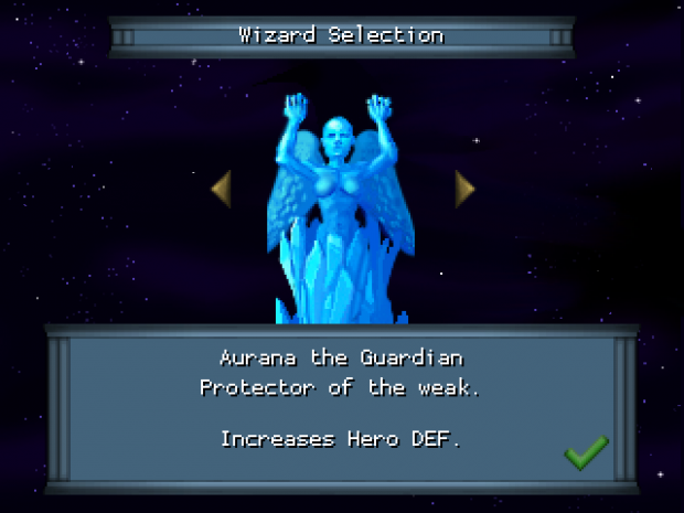 Wizard Selection