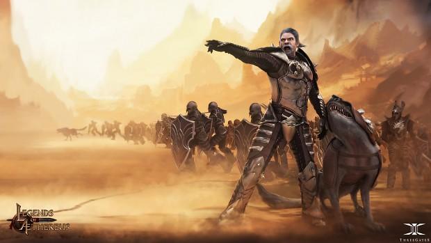 Legends of Aethereus - The Venatan Legion
