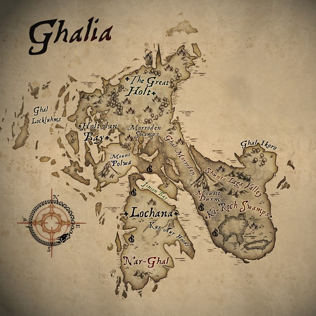 The Map of Ghalia