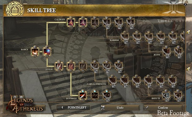 Legends of Aethereus - The Officer Skill Tree