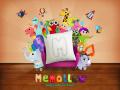 Memolllow memory game on pillows