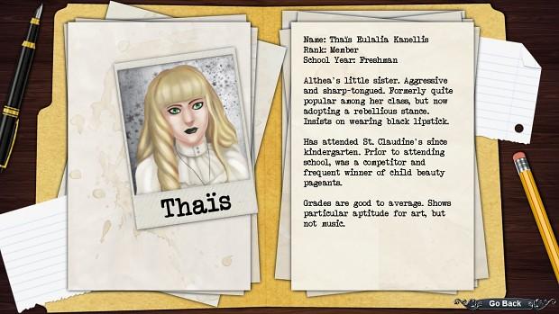 Thais's Profile