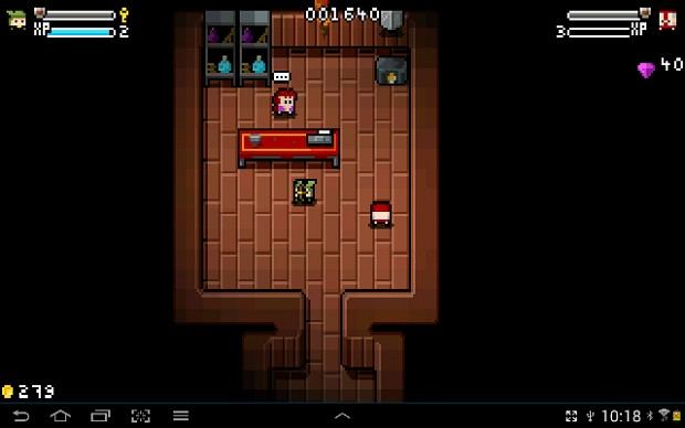 the shop in 2 player mode