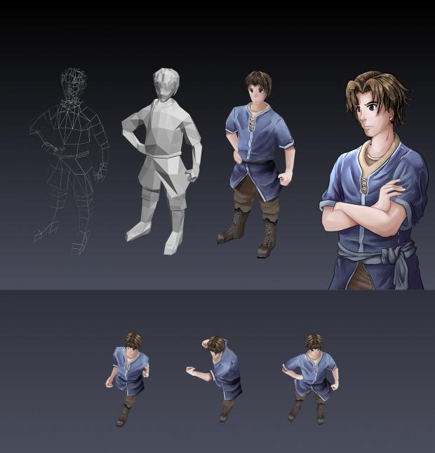 3D Model: Syas