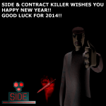SIDE & Contract Killer Wishes you a Happy New Year