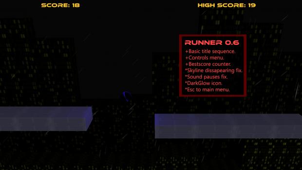 Runner: Internuncio 0.6 Updates