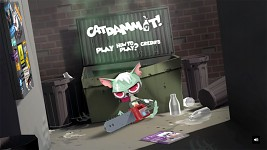 CATDAMMIT! menu screenshot