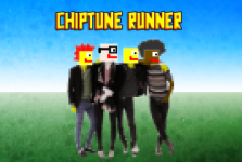 Chiptune Runner Band - Concept Art