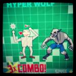 hyper wolf / evil boss