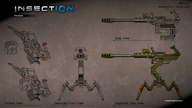 MGMT - Machine Gun / Mobile Turret - WP-07