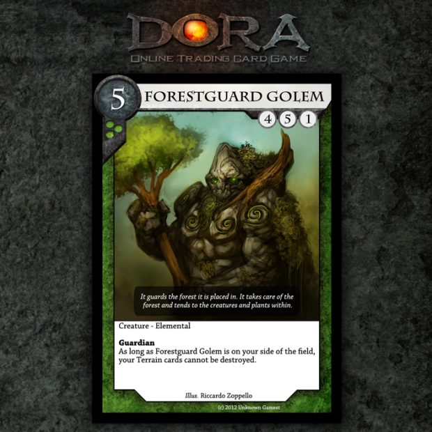 Forestguard Golem