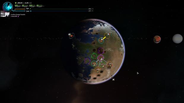 Planetary damage