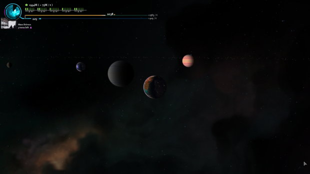 Planets line up