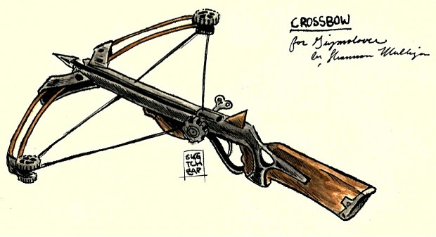 Clockwork Crossbow CONCEPT ART