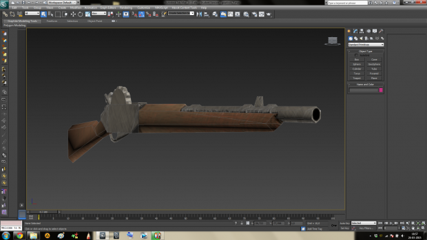 WIP Gearlock Rifle