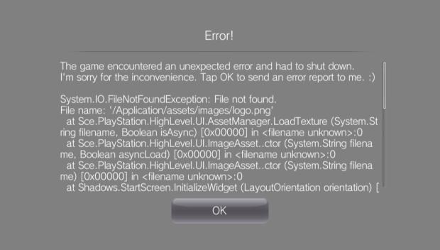 Error Reporting!