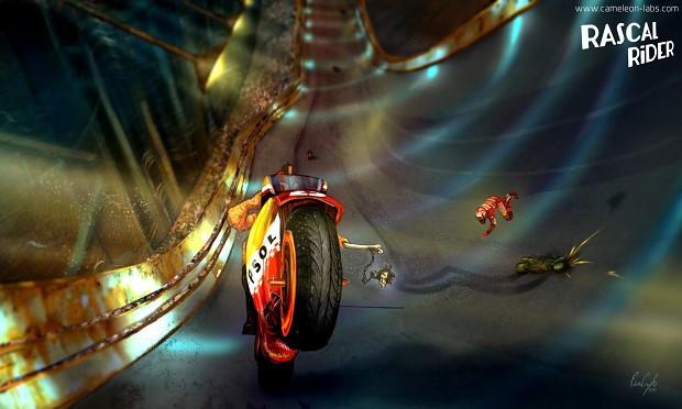 Rascal Rider concept art