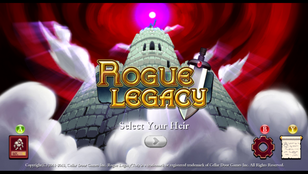 Rogue Legacy Screens