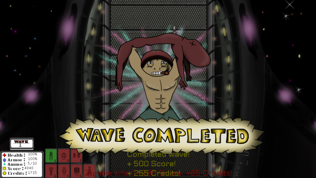 Wave completed!