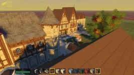 Medieval city by Kaishiro