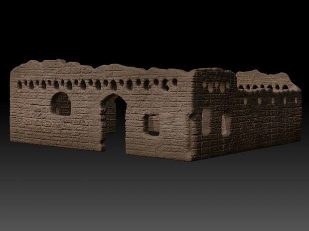Ruin_Detailed - BPR Render