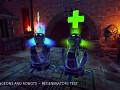 Regeneration items test animation
