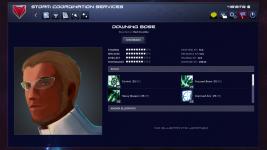 Agent details screen