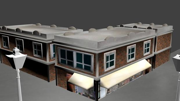 Corner Store Building