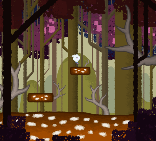 Giant Deer District mockup