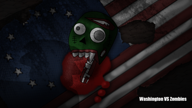 "Wallpaper ""Zombie Flag"""