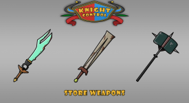Knight Control Store Weapons