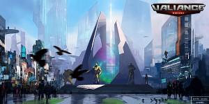 Valiance Online - Civic Center concept art