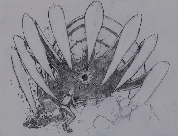 Sketch : The Giant Crawler